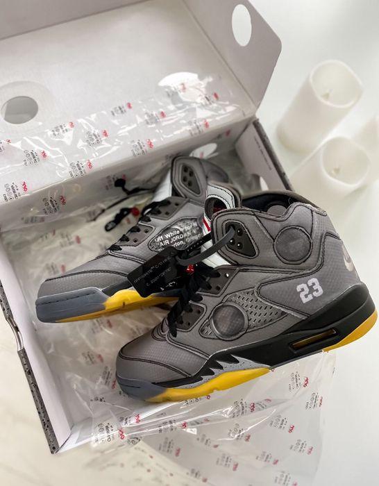 Buty Nike Air Jordan 5 Retro x Off-White 40-45 meskie trampki Warszawa - image 1