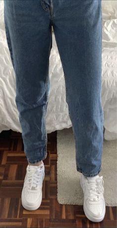 Calcas de ganga mom jeans