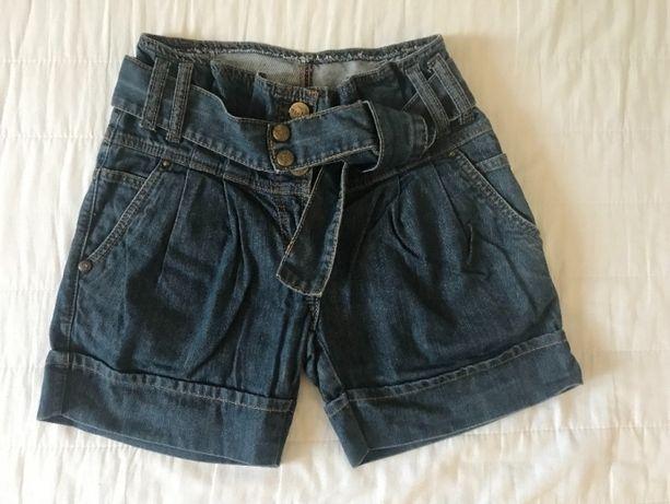Shorty jeans wysoki stan New Yorker rozmiar 36