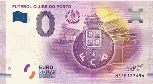 Notas 0€ (zero euros): FCPorto