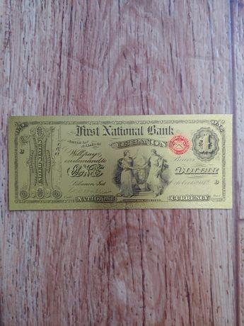 сувенирная банкнота 1 доллар первый национальный банкLEBANONСША