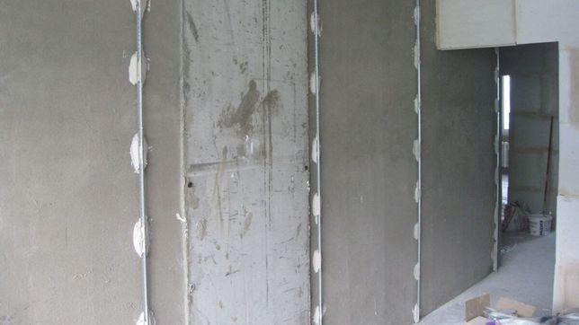 Штукатурка гипсовая/цементная