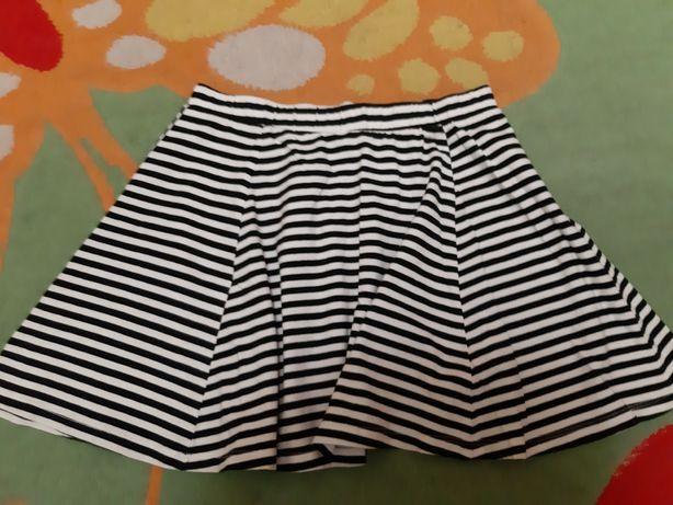 Хлопковая юбка для девочки фирма H&M