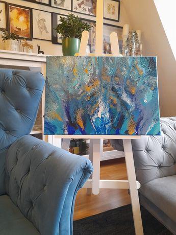 Obraz akrylowy 50x70 Pawie pióra
