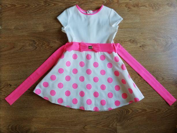 Sukienka dla małej damy. Rozmiar 98