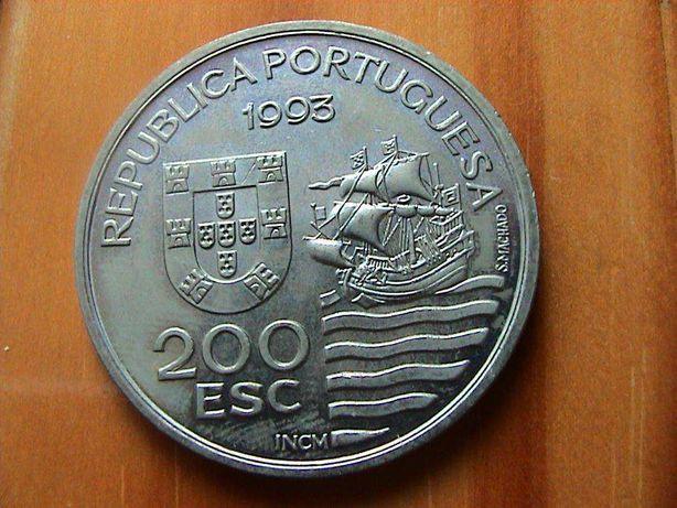 Moedas Portugal 200$00