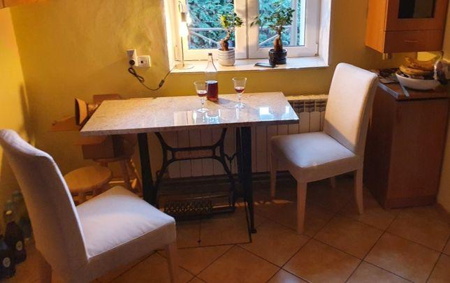 Stolik Toaletka z Maszyny do Szycia Granit Kamień - Wysyłka