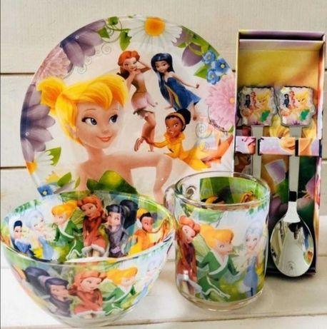 Детская посуда наборы феечка, единорог