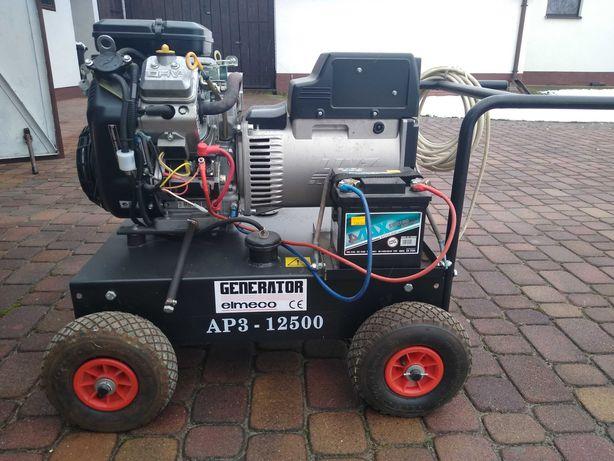 Agregat prądotwórczy trójfazowy zespół prądotwórczy generator 18 KM