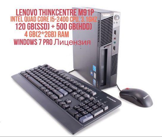 ПК Lenovo ThinkCentre M91P 7033B92(SSD128)+(hdd500)