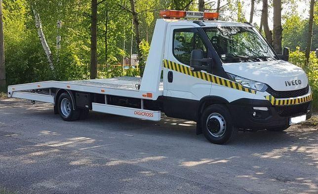 Pomoc Drogowa Laweta HOLOWANIE transport usługi