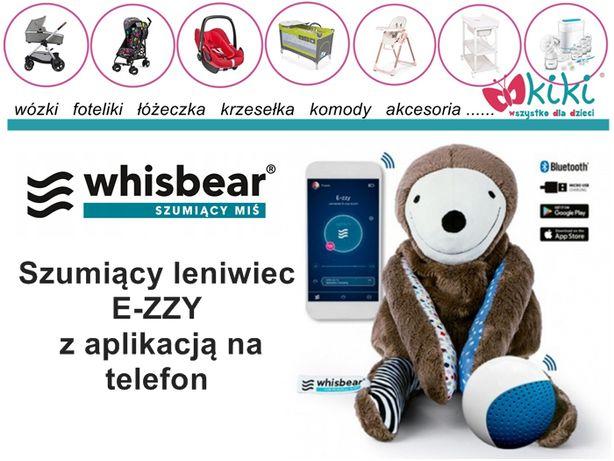 Leniwiec E-ZZY Whisbear szumiący miś z aplikacją na telefon