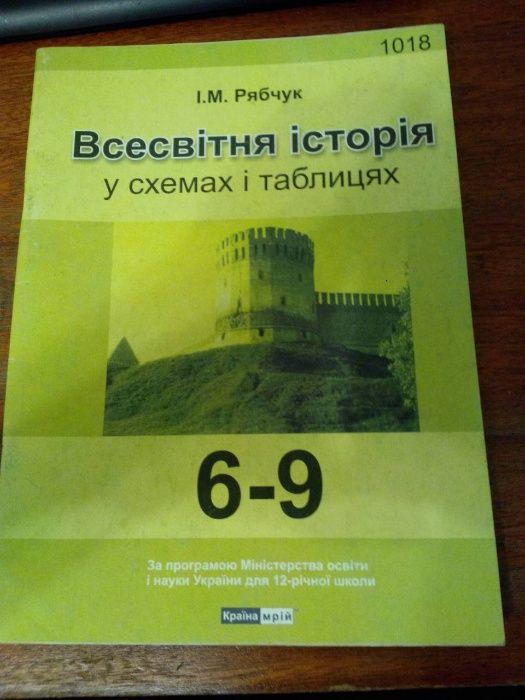 Всесвітня історія у схемах і таблицях. 6-9 клас Киев - изображение 1