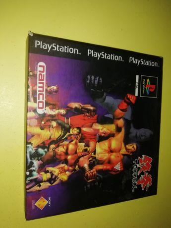 Antigo jogo tekkem PS 1 edição 94 / 95 com manual caixa em lombarda