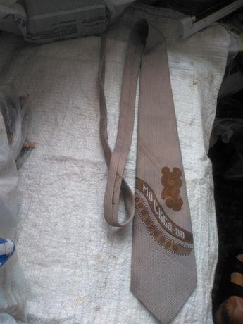 Галстук Олимпийский мишка - 80