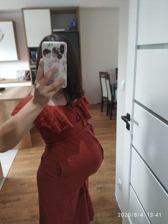 Sukienka ciążowa do karmienia Zara S/m