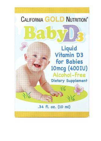 Витамин D3 в каплях для детей
