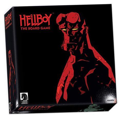 Настольная игра Hellboy Хеллбой (АНГЛ)