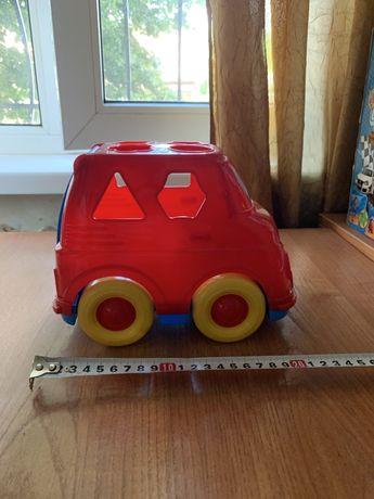 Машинка сортер машина автобус