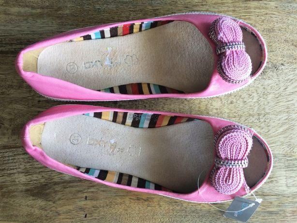 OXY`S różowe balerinki skóra r.31 NOWE