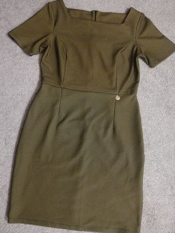 Sukienka wizytowa do biura ciążowa