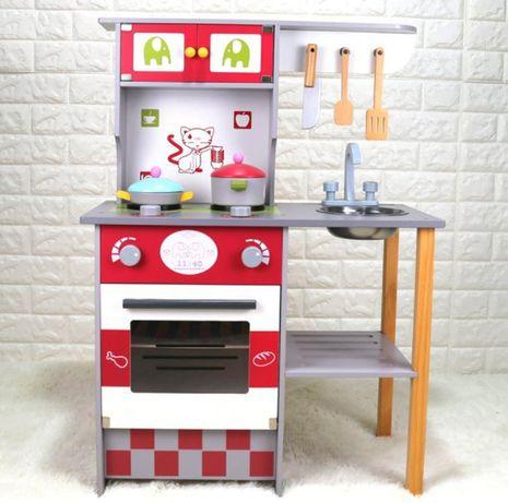 Детская кухня для детей игровая деревянная, дитяча ігрова