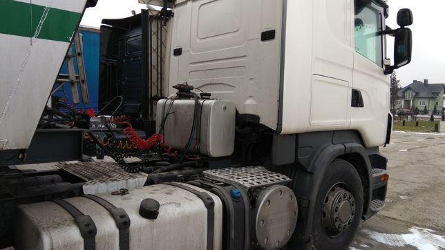 Zbiornik aluminiowy hydrauliczny na rame! Scania