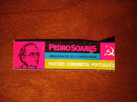 Autocolante político PCP anos 70 - Campo de Ourique Santo Condestável