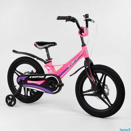 """Велосипед 18"""" дюймов 2-х колёсный """"CORSO"""" MG-18009"""