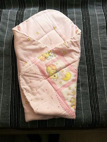 Sprzedam używany śpiworek niemowlęcy zakładany do pasa. Świetne rozwią