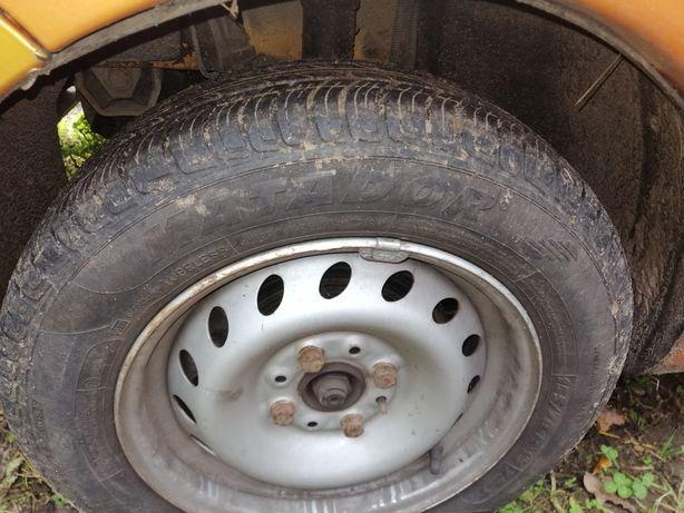 Fiat seicento koła letnie felgi opony 4x98 r13