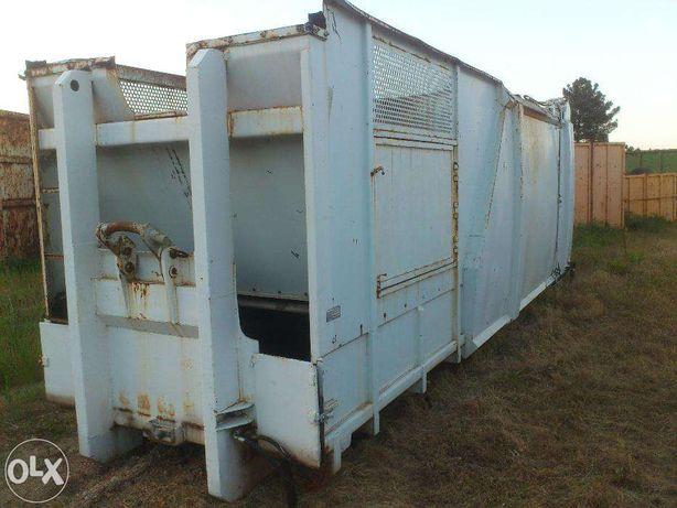 compactador prensa residuos