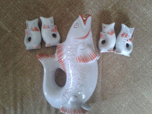 Фарфоровые рыбки