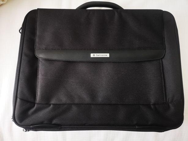 Vendo mala de computador portátil Samsonite preta nova