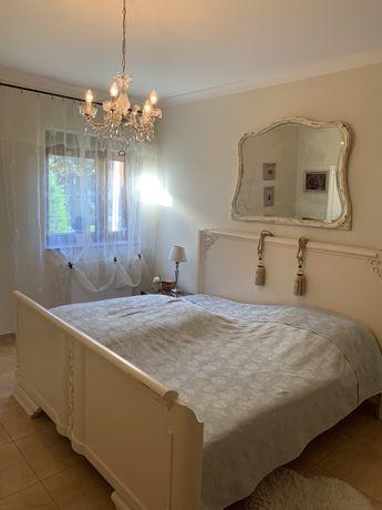 Sypialnia ludwikowska łóżko szafa biala ludwik