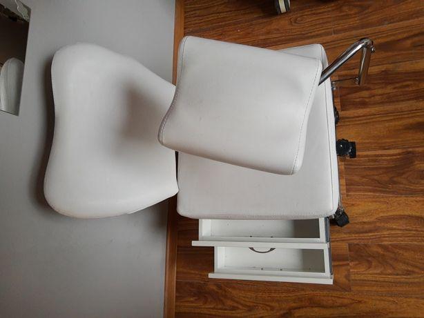 Fotel kosmetyczny do pedicure likwidacja salonu