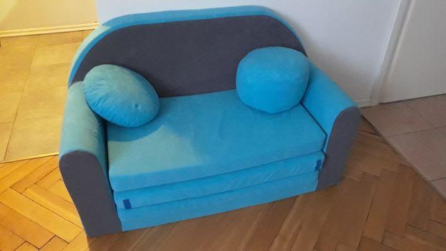 Łóżeczko dziecięce materiałowe (STAN BDB)