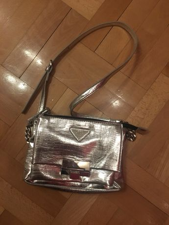 Śliczna srebrna hiszpańska torebka