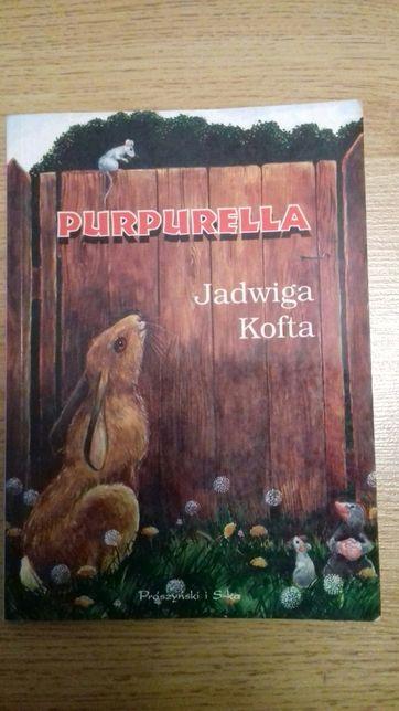 "Książka ""Purpurella"" Jadwiga Kofta"