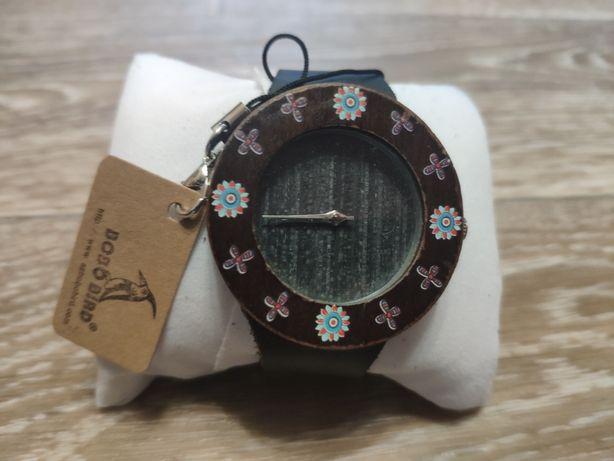 Часы Bobo bird  бамбук+кожа. Акционная цена до 01.06