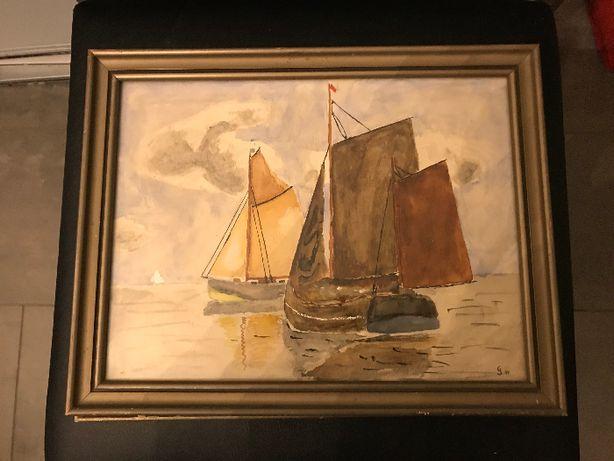 Obraz Malowany w Ramie