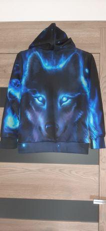 Bluza dla chłopca Oczy Wilka, rozm.140cm