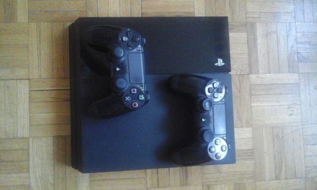 PlayStation 4 500 GB + dwa pady Polecam !!!