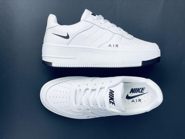 Кроссовки , NIKE , Nike AF-1 , кроссовки , кожаные , демисезонные ТОЛП