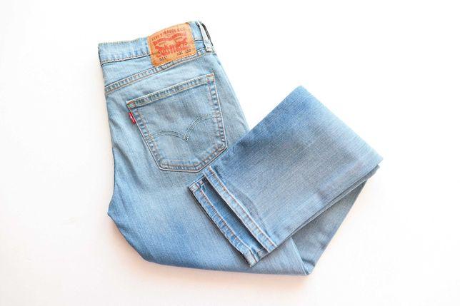 Męskie spodnie jeansy Levis 511 W31 L32 slim fit jak nowe okazja!