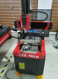 Máquina CNC/Fresadora 400x400mm para metais