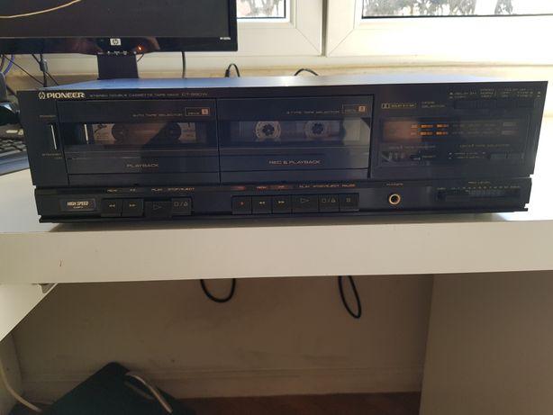 Pioneer CT-980w, deck (leitor/gravador) cassetes