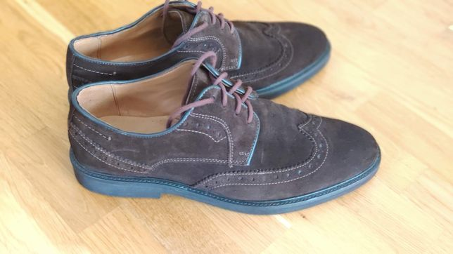 Zamszowe buty rozmiar 41
