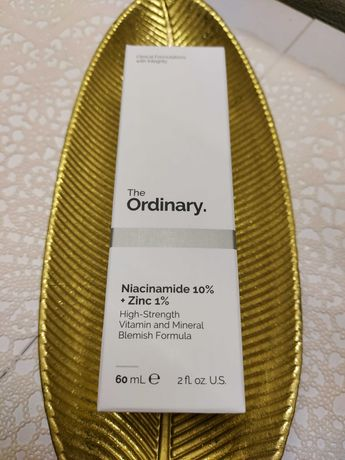 The Ordinary - 60 ml! Niacynamide 10%+1% Zinc i Tonik glikolowy 240 ml