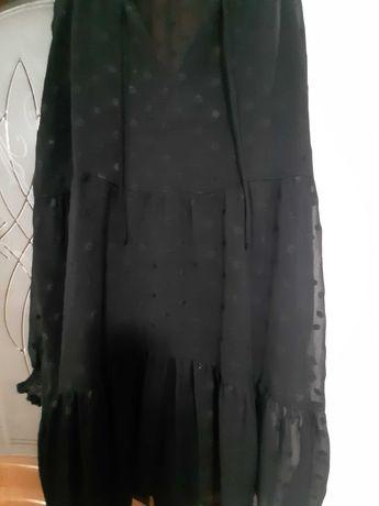 Плаття чорне нарядне р 48